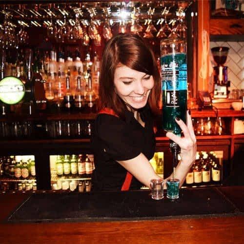 Bar tender in London