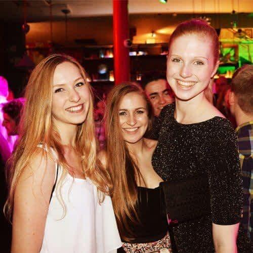 Friends at London Pub