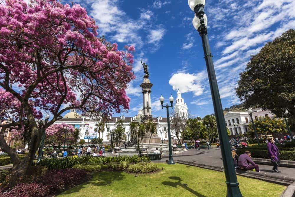 Main Square Quito