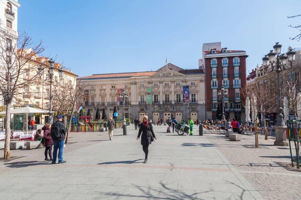Plaza de Santa Ana Tourist