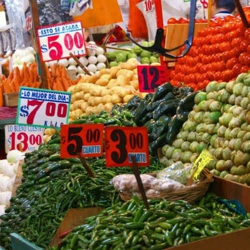 Vegetable and Fruits alley