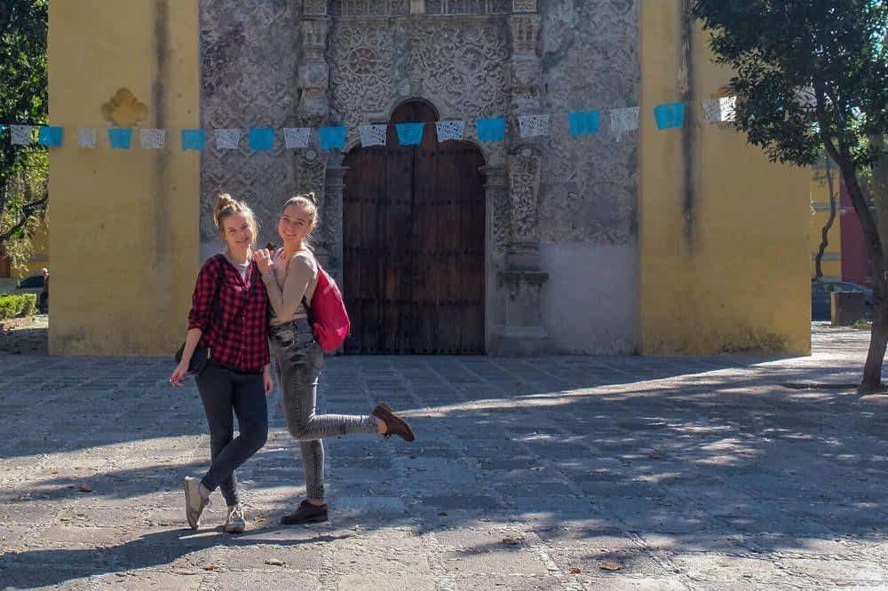 Church in Coyoacan