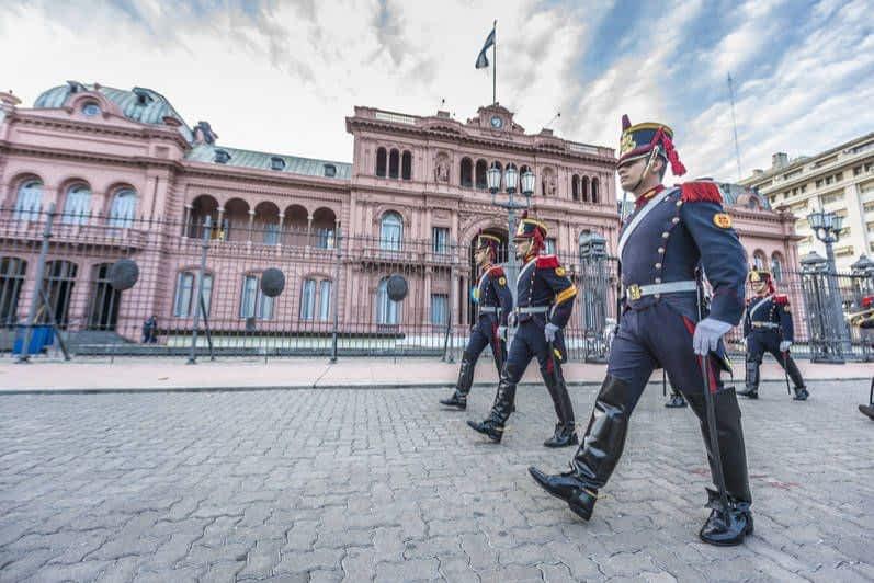 Cambio de la Guardia Argentina