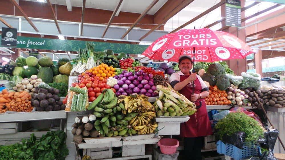 San Francisco Market Fruit and Veggies