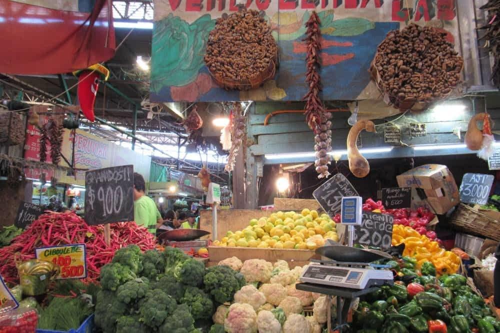 Veggies Market Santiago Chile