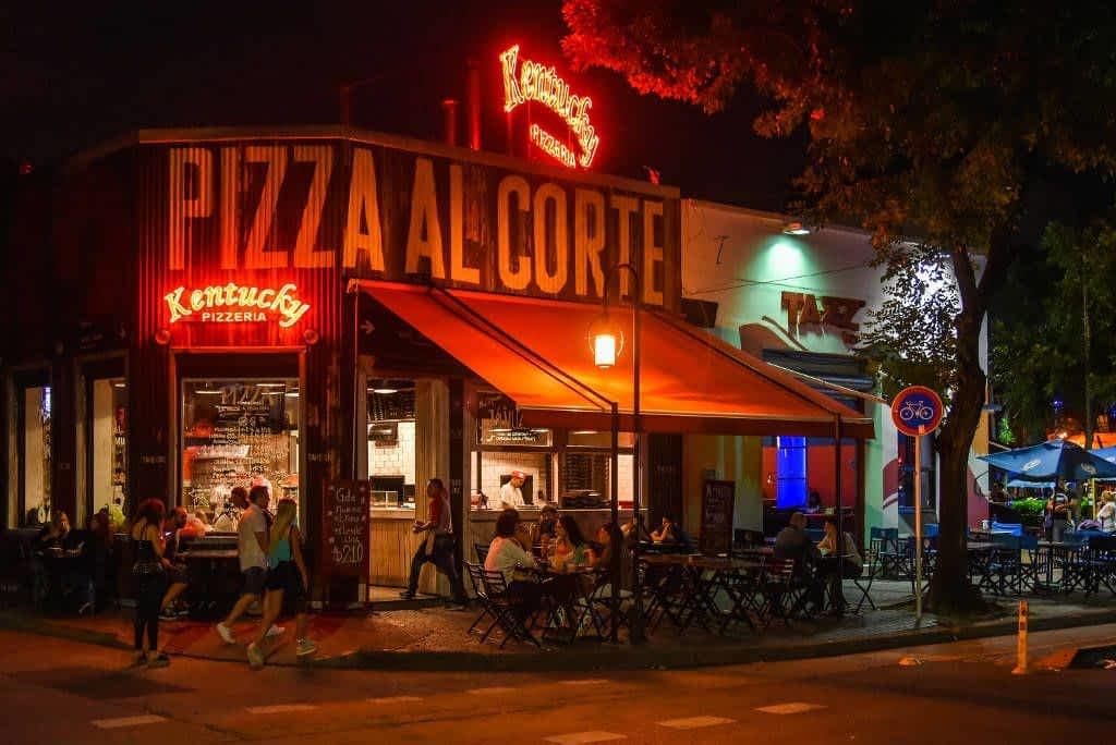 Kentucky pizzeria Buenos Aires