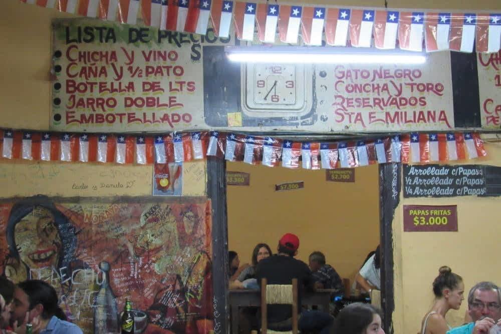 Market Santiago Chile