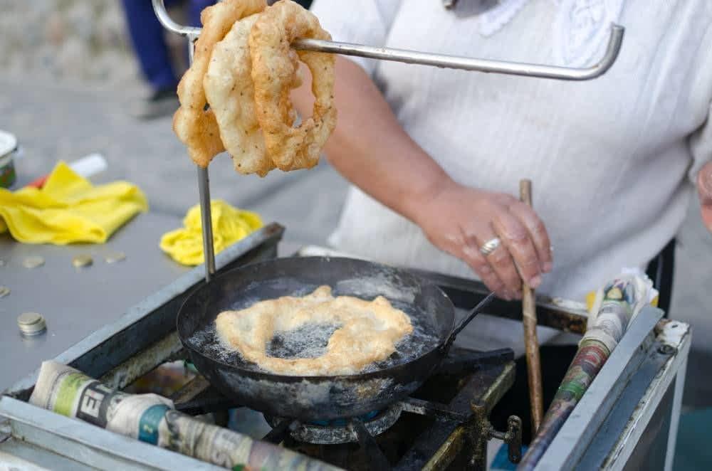 Picarones Cook