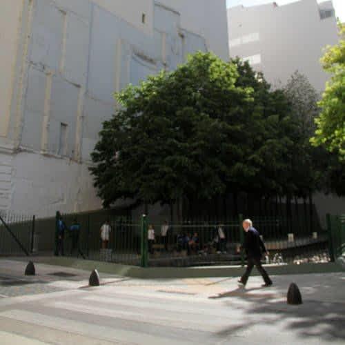 Plaza de la Embajada Israeli