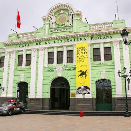House of the Peruvian Literature