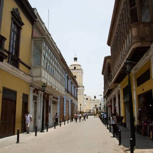 Jiron Ancash Street