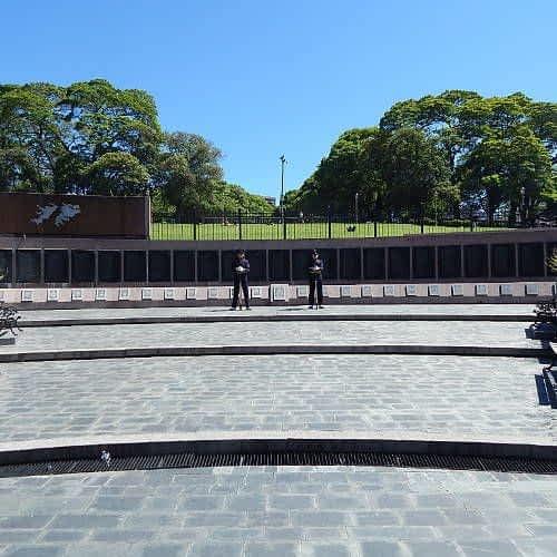 Monumento a los cáidos en Malvinas
