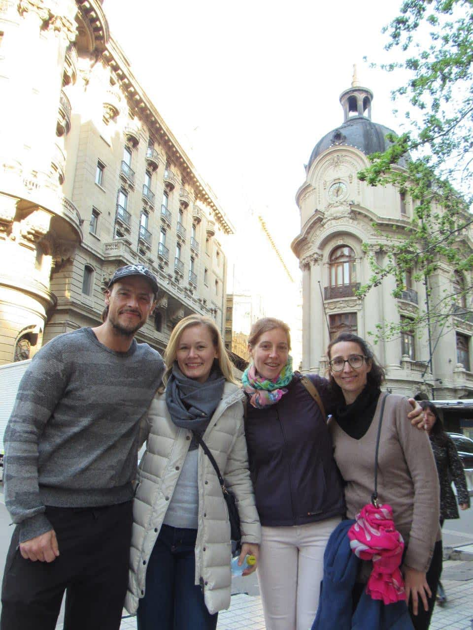 Family in Santiago Chile