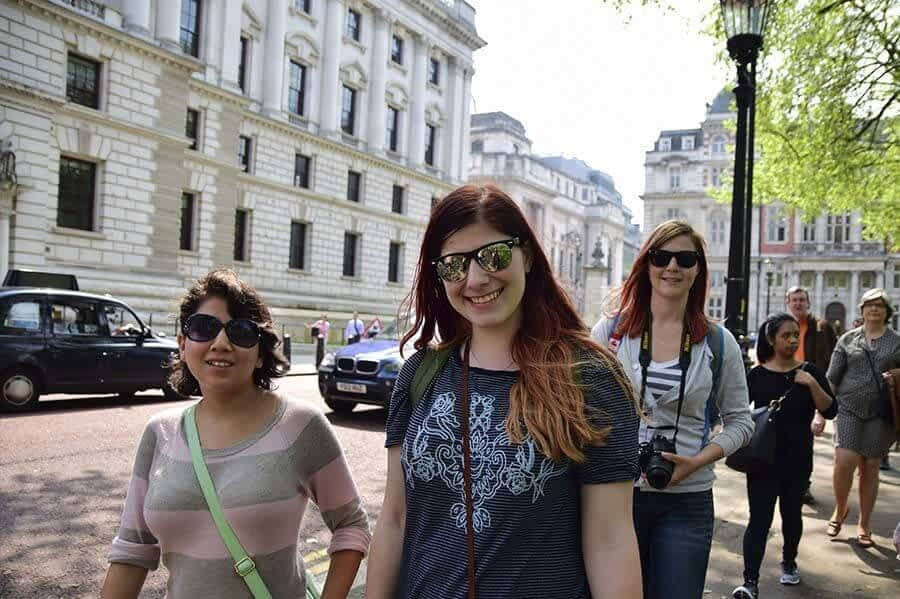 Free Soho Walking Tour. Customers 1