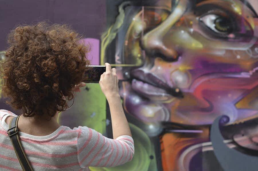 Free Street ART & Graffiti Tour. Customers 2