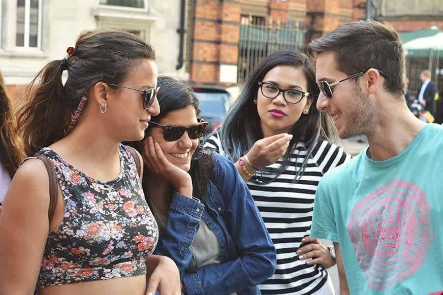 Turist in london