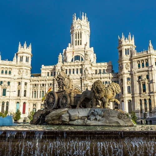 Cibeles Square and Communications Palace