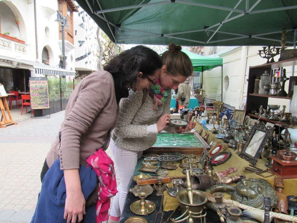 Street Market Yungay Santiago