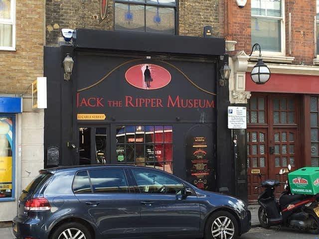 Exterior Jack the Ripper tour