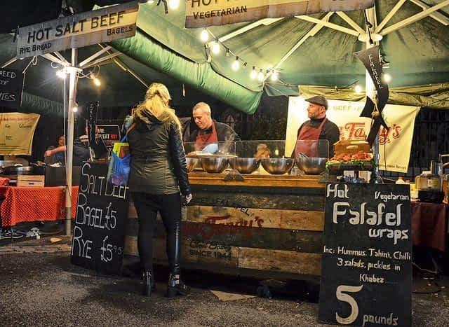 Falafel Vendor Borough Market