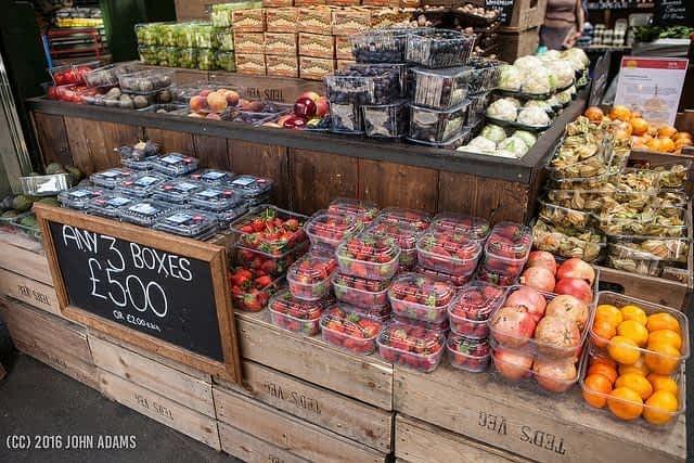 Fruit Boxes Borough Market