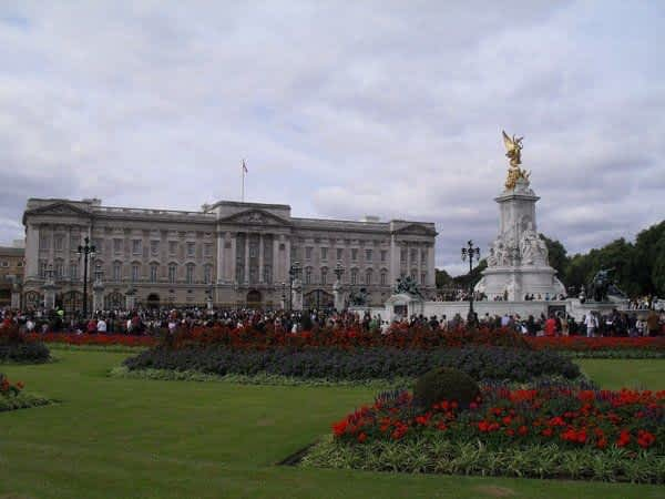 Exterior of Buckingham Palace