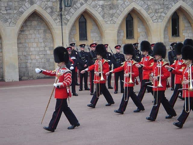 Windsor Changing of the guards