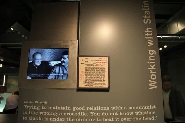 Exhibits Churchill War rooms