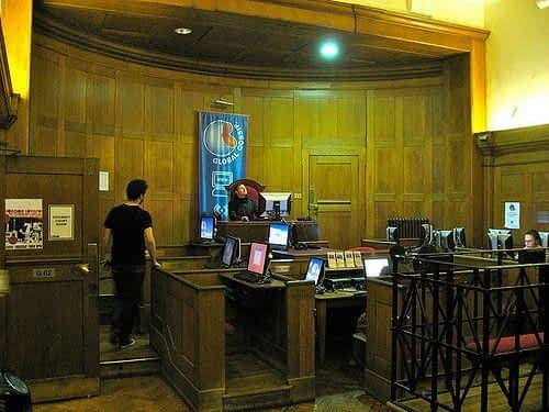Clink Hostel Lobby