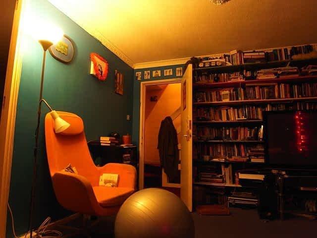Couchsurfing Bedroom