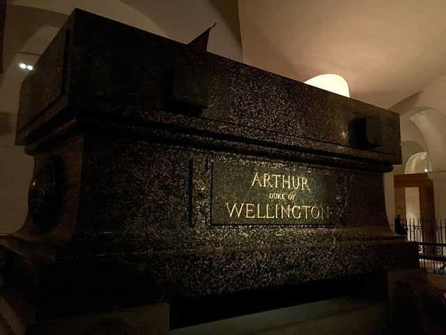 Duke of Wellington Tomb St Paul's cathedral