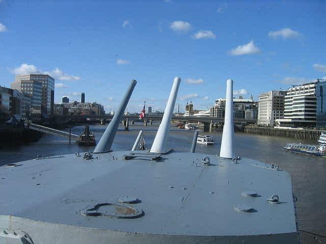 HMS Belfast Front Shot