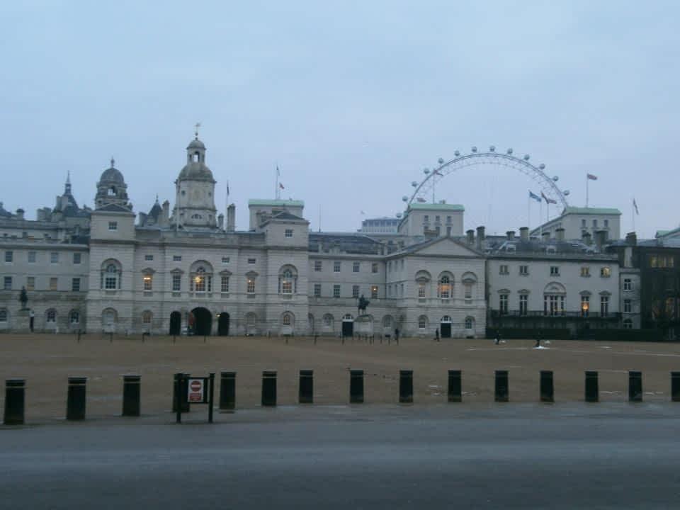 London Eye Horser Guards Parade