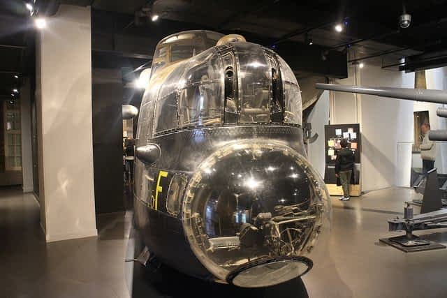 Imperial War Museum Lancaster bomb