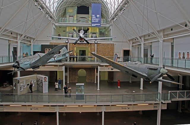 Interior of the imperial War Museum