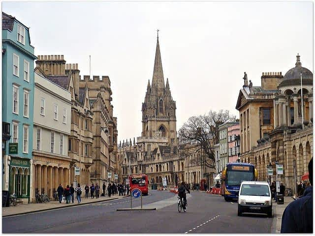 Oxford  City Tourist