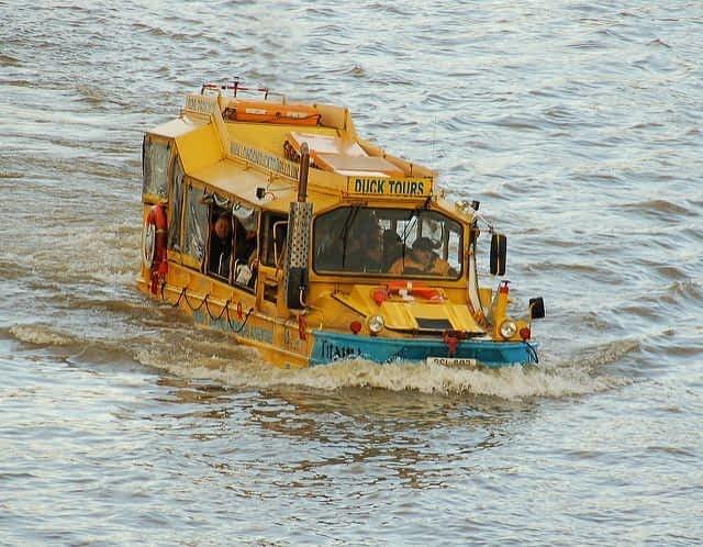 London Duck Tour  Thames River
