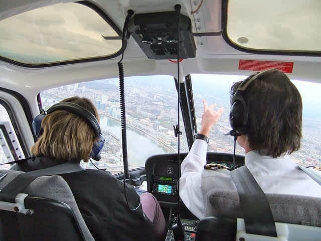 London Helicopter tour Pilot