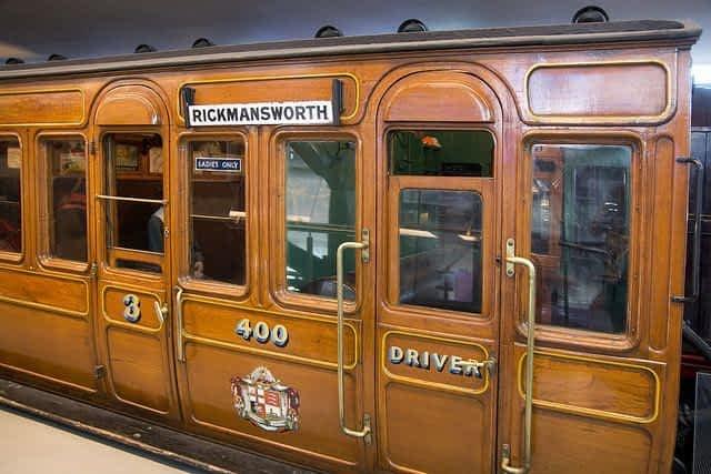 London Transport Museum Bogie Stock Coach