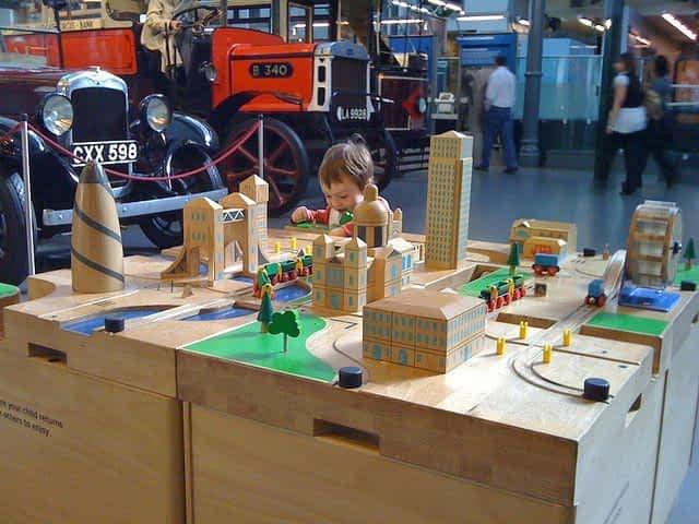 London Transport Museum Children Area