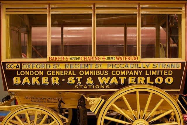 London Transport Museum horse  drawn Omnibus