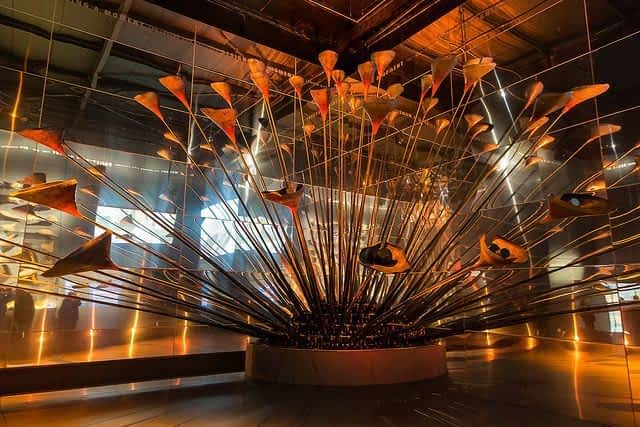 Museum of london olympic cauldron