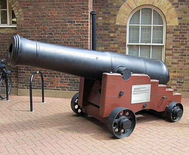 National Army Museum cannon
