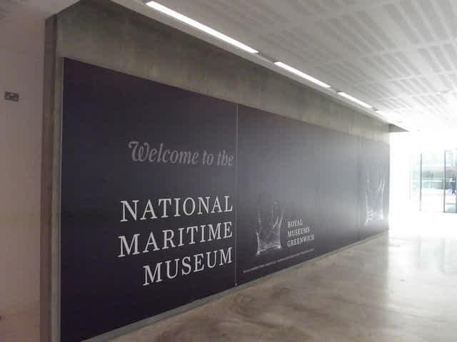 National Maritime Museum Entrance