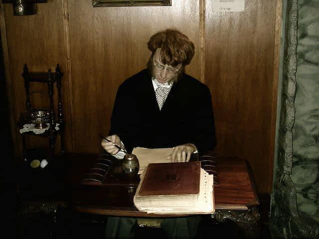 Sherlock Holmes Museum Wax Figure