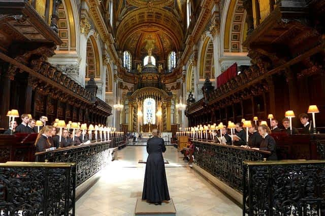 St Paul;s Cathedral Evensong