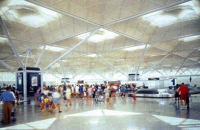 Stansted Airport Interior