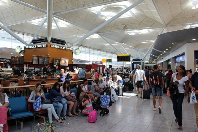 Stansted Airport Passangers