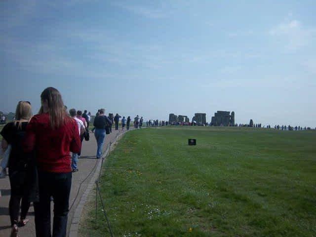 Tourist Stonehenge
