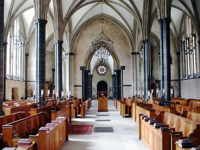 The Temple Church Interior
